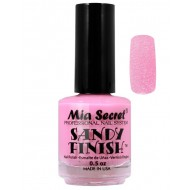 Sandy Finish Nagellak Licht Roze