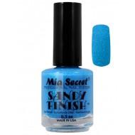 Sandy Finish Nagellak Blauw