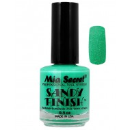 Sandy Finish Nagellak Groen