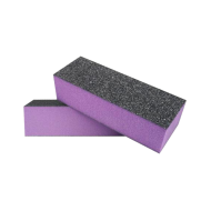 Schuurblok Buffer Paars Zwart