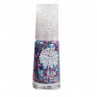 Waterbasis Nagellak Glitters Roze Blauw (Grof)