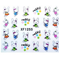 Water Transfer Sticker Rabbit