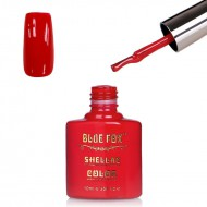 Blue Fox Fire Red Gelnagellak
