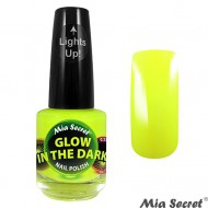 Glow in the Dark Nagellak Citron Geel