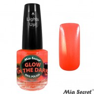 Glow in the Dark Nagellak Orange