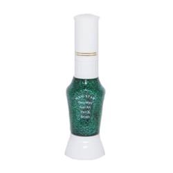 Nagellakpen Glitters Groen 2 in 1