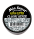 Alpha & Dust Glitter Acrylpoeder Classic Silver